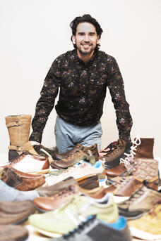 Alan Lugo at NFW's headquarters