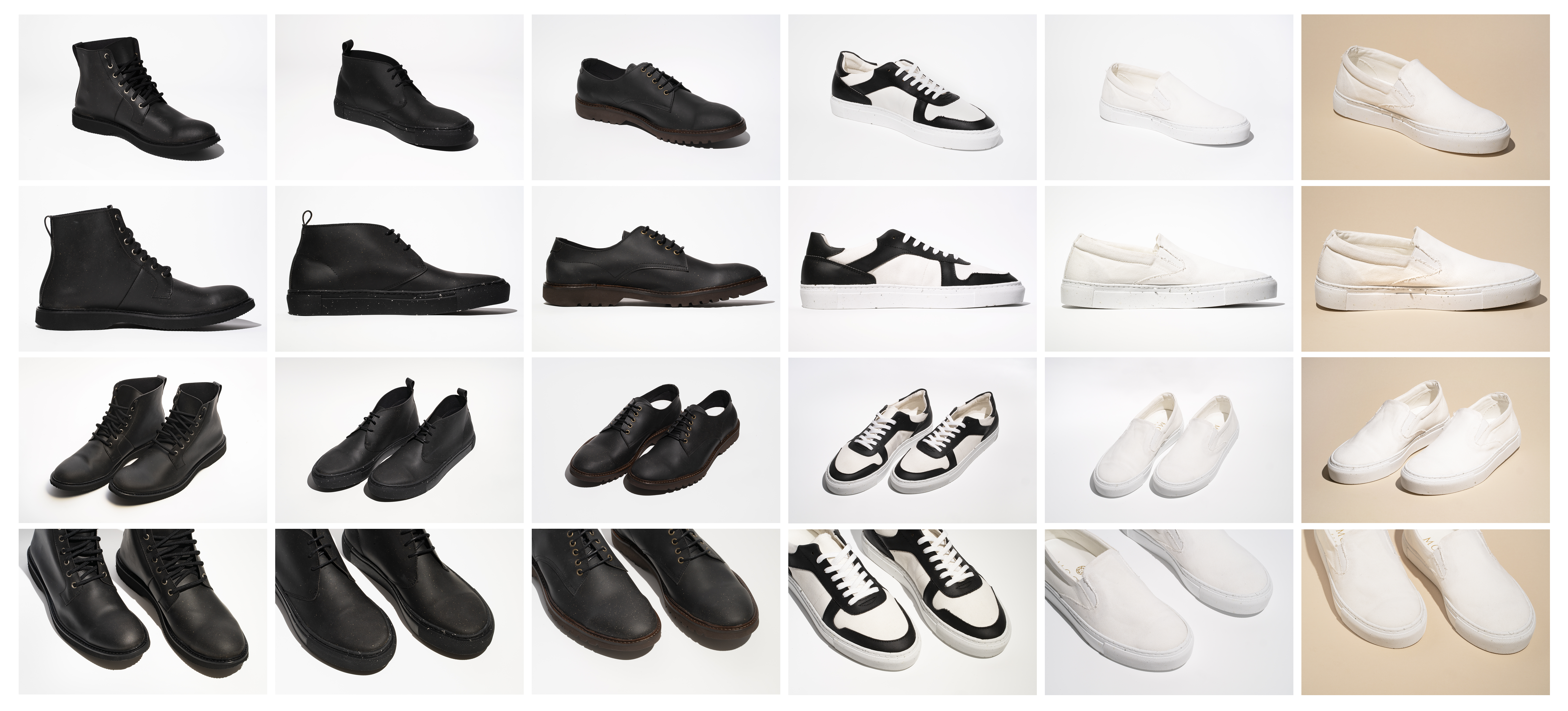 Footwear made with MIRUM
